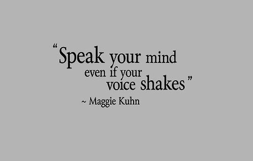Quotes About Speaking Your Mind 52 Quotes