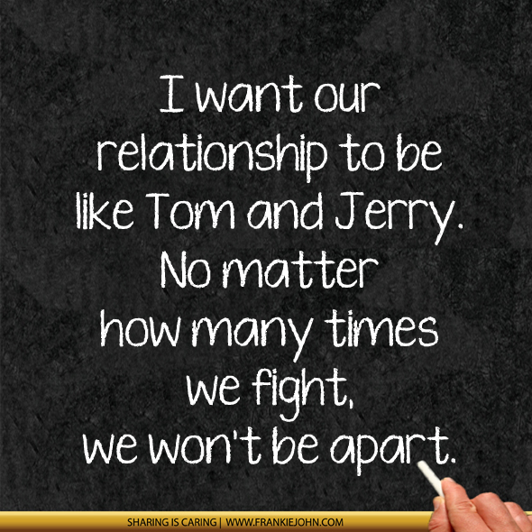 Quotes about Relationship fights (65 quotes)