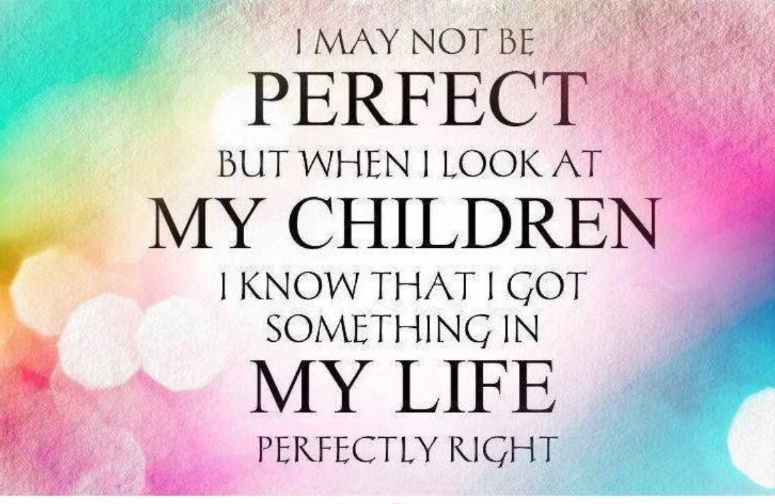 Lovely I May Not Be A Perfect Mom Quotes - Mesgulsinyali