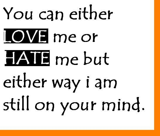 Quotes about Love Hate 141 quotes