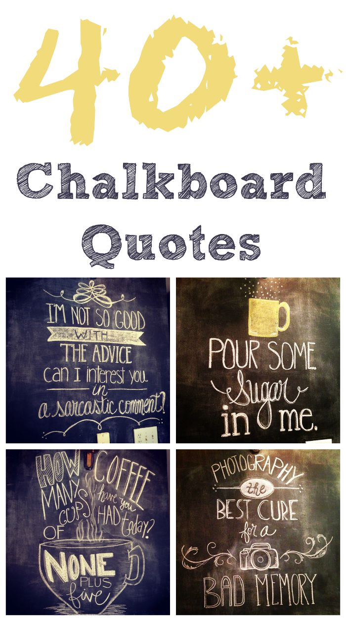 Quotes about Chalk 101 quotes