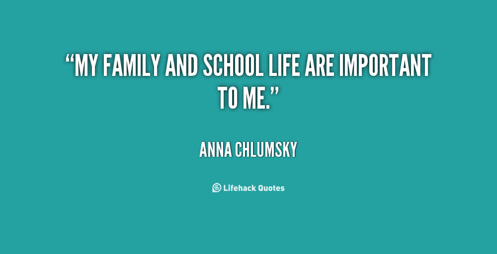 Quotes about Why school is important 16 quotes