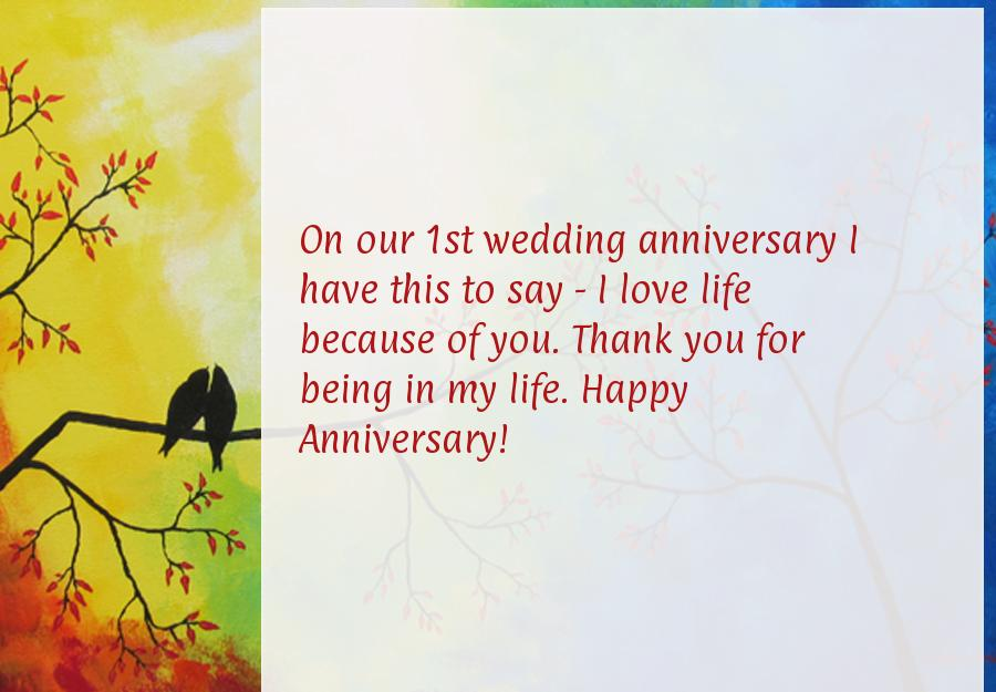 Quotes about Our first anniversary 21 quotes