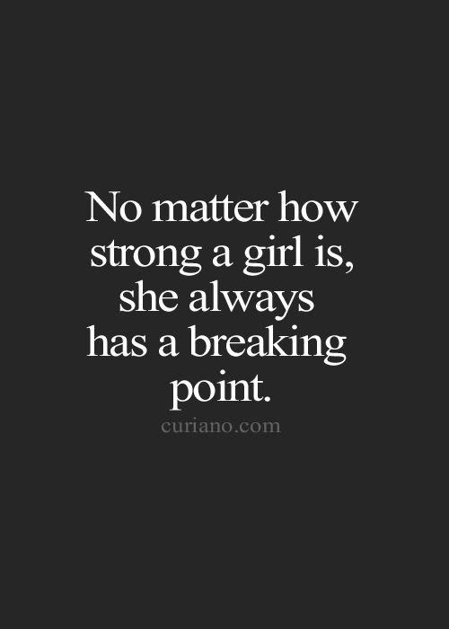 Quotes about Reaching breaking point (40 quotes)