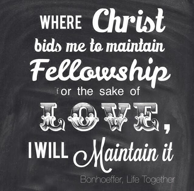 Quotes about Fellowship with believers 12 quotes