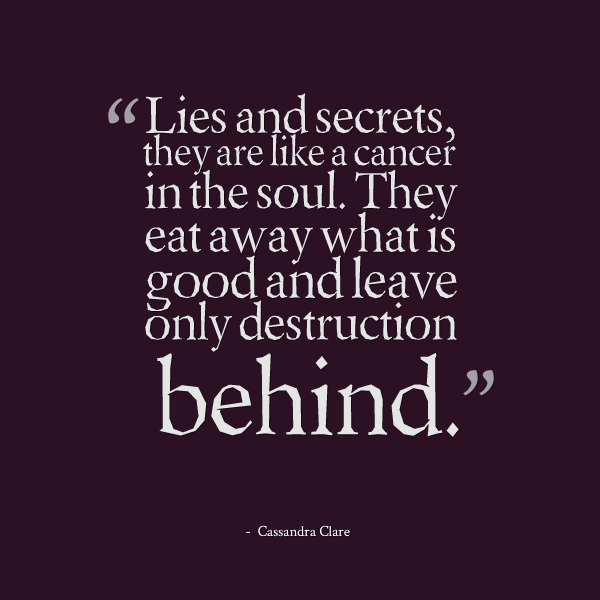 Quotes about Relationship secrets (68 quotes)