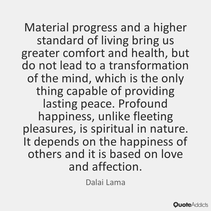 Quotes about Material fort 35 quotes