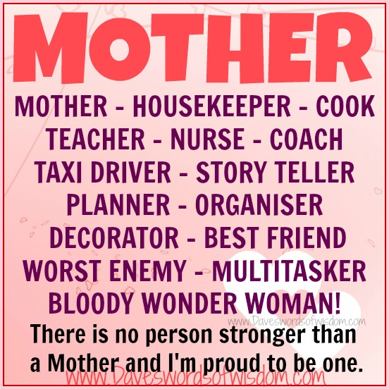 Quotes about Strong mothers (48 quotes)