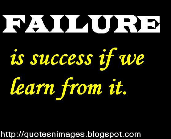 Quotes about Success from failure 98 quotes