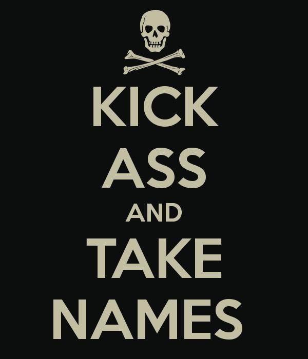 Kick Names Take Ass Ladies Triblend Shirt Avengers Endgame