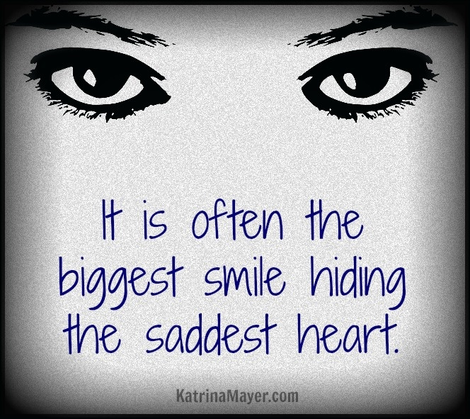 quotes about smile but sad quotes