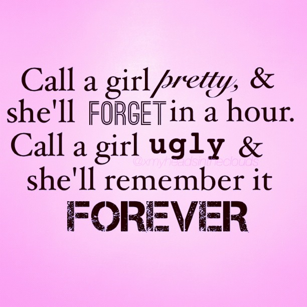 Ugly fat quotes
