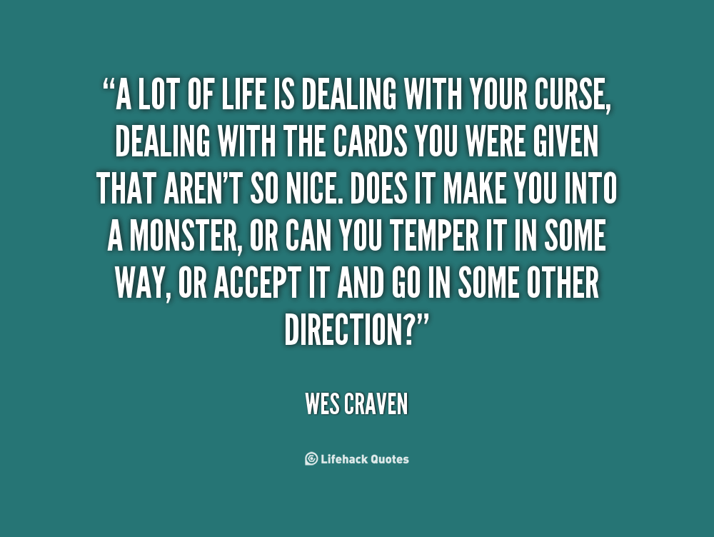 dealing with life quotes