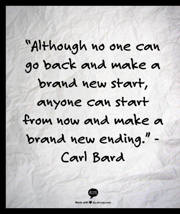 Quotes about New year fresh start (18 quotes)