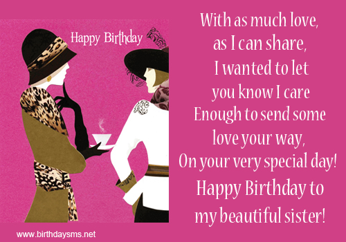Magnificent Quotes About Sister Birthday 14 Quotes Personalised Birthday Cards Paralily Jamesorg