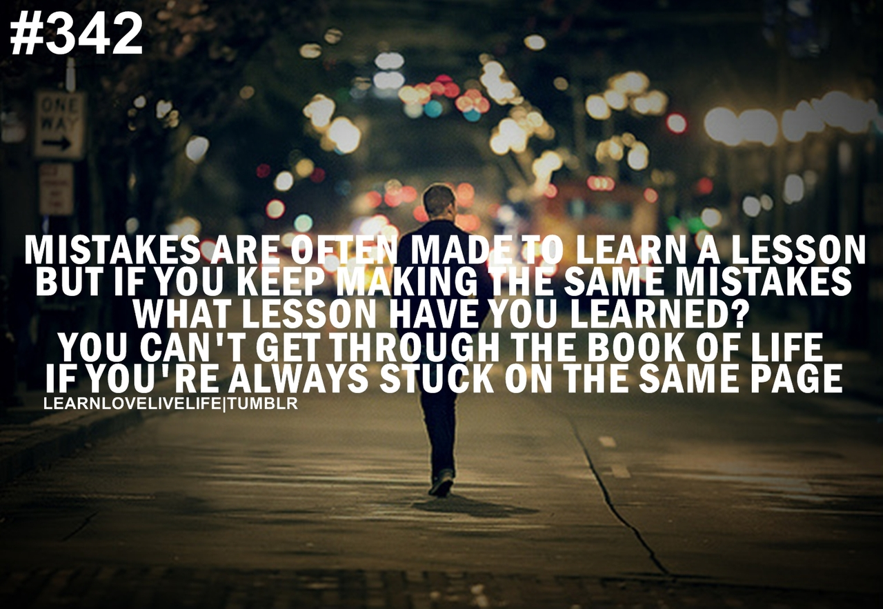 Quotes about Moving on from mistakes 20 quotes