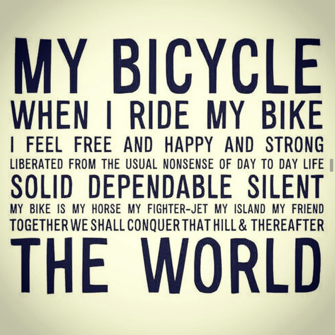 Quotes About Bicycle Riding 57 Quotes