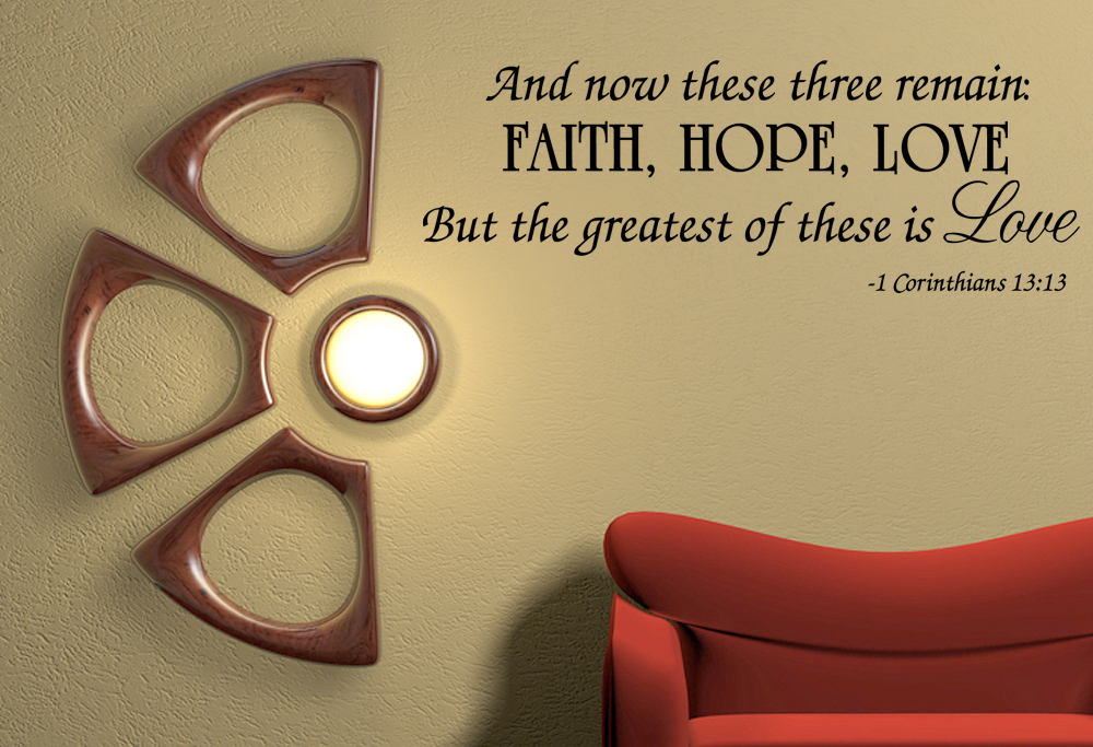 Quotes About Faith Hope And Love 60 Quotes Custom Love Faith Hope Quotes