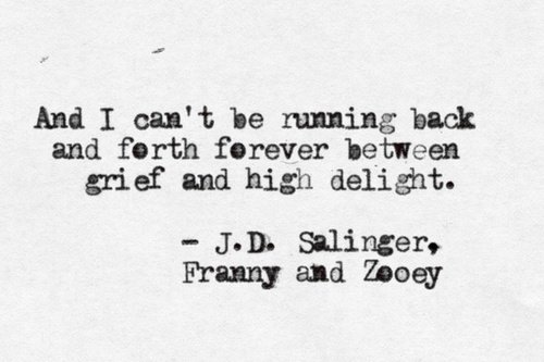 a respect for the personal life of jd salinger And salinger's personal initiative to cross the bridge to meet with the woman  j d salinger: a life raised high  jd salinger – daily telegraph obituary.