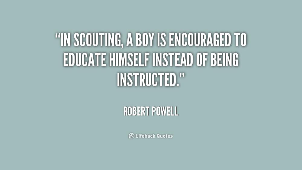 boy scout leadership essay