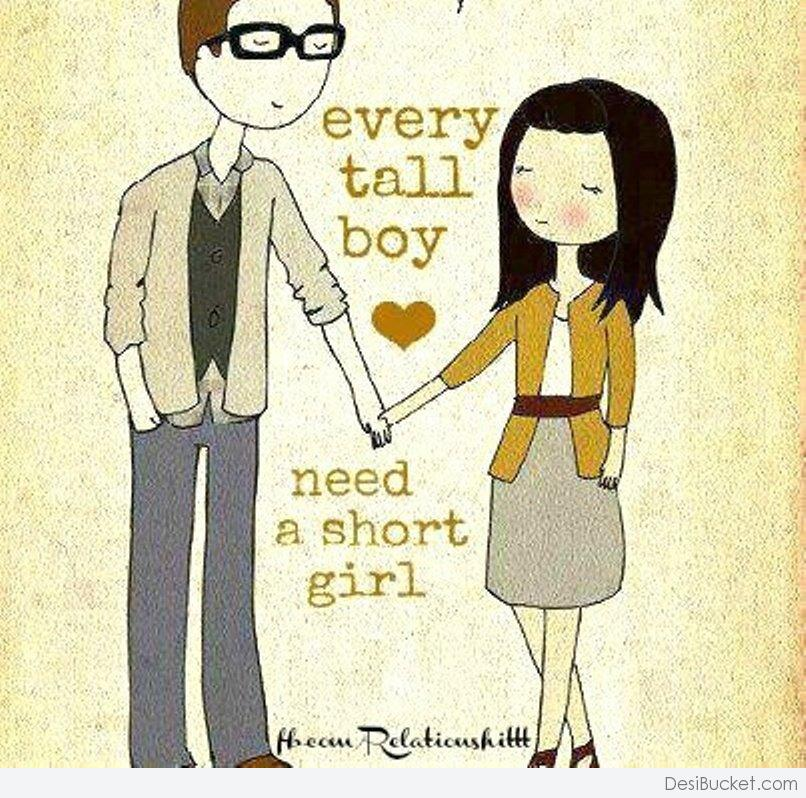 A would guy a tall girl date short 21 Struggles