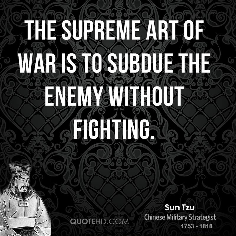 Quotes About Enemies Fighting 44 Quotes