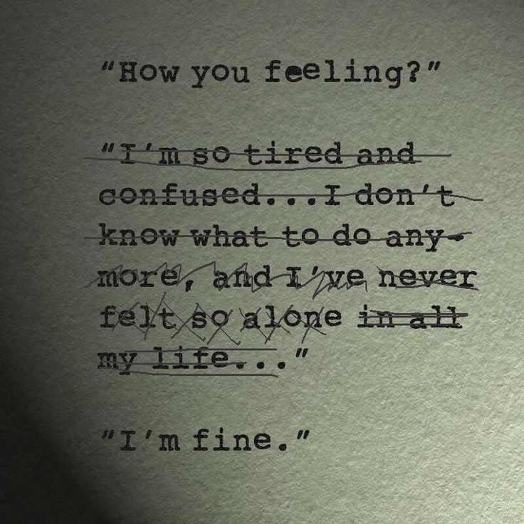 Quotes About Feeling Fine 48 Quotes