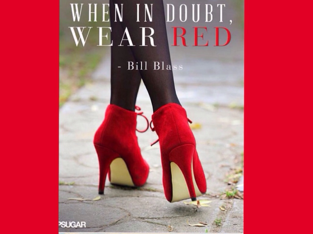 Quotes about Red high heels (11 quotes)