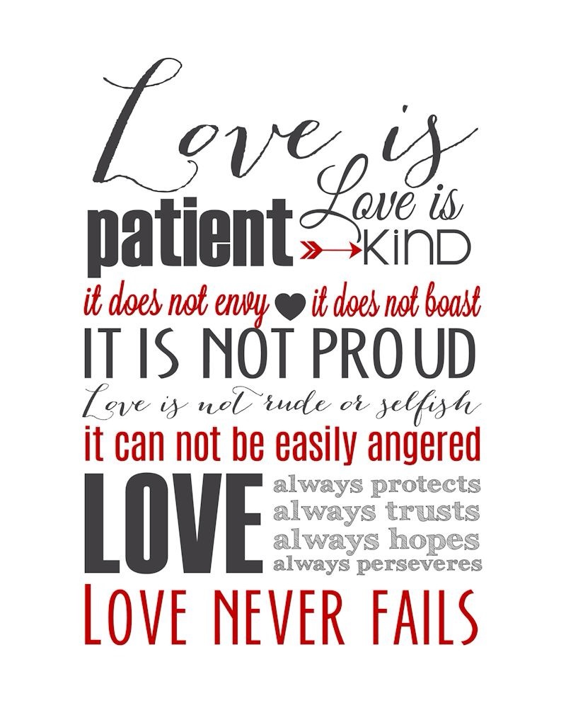 Love Is Patient Quote Quotes About Love Is Patient 54 Quotes