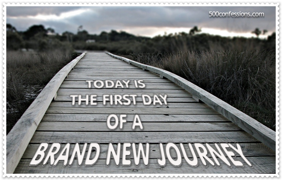 Quotes about Beginning a new journey (14 quotes)
