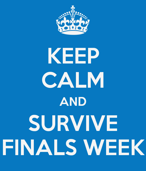 Quotes about Finals week in college (15 quotes)