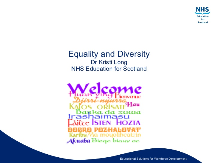 equality and diversity 8 essay Champion equality, diversity and inclusion 11 explain the models of practice that underpin equality, diversity and inclusion in own area of responsibility equality is to treat all as individuals to respect race, disability, age, gender, religion, beliefs ,culture and sexual orientation.