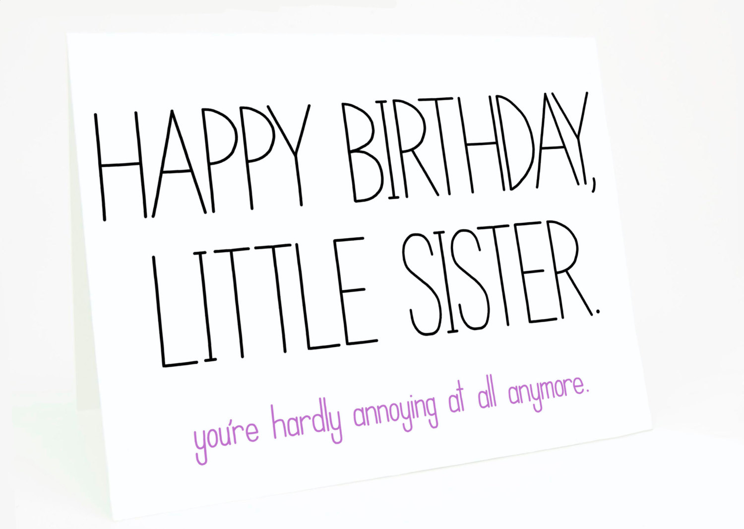 Admirable Quotes About Little Sister Birthday 20 Quotes Personalised Birthday Cards Veneteletsinfo