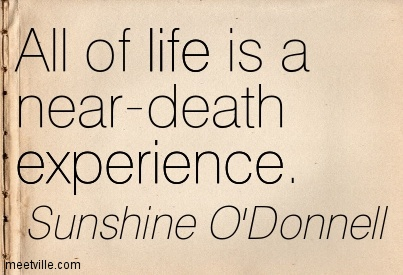 Quotes About Near Death Experience 56 Quotes