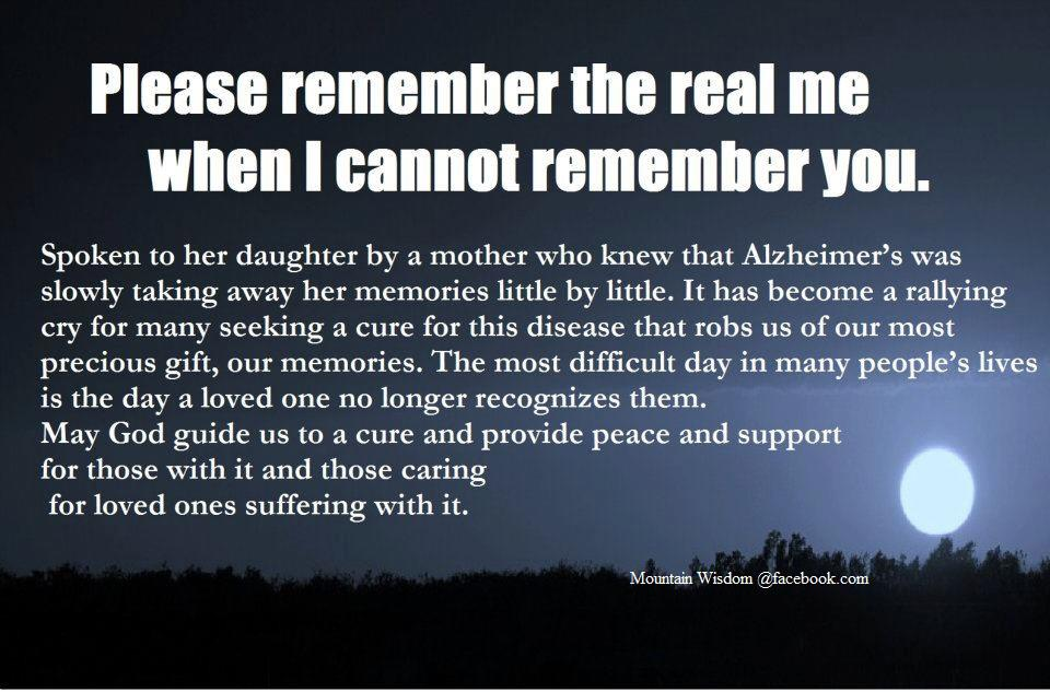 Quotes about Alzheimer's (185 quotes)