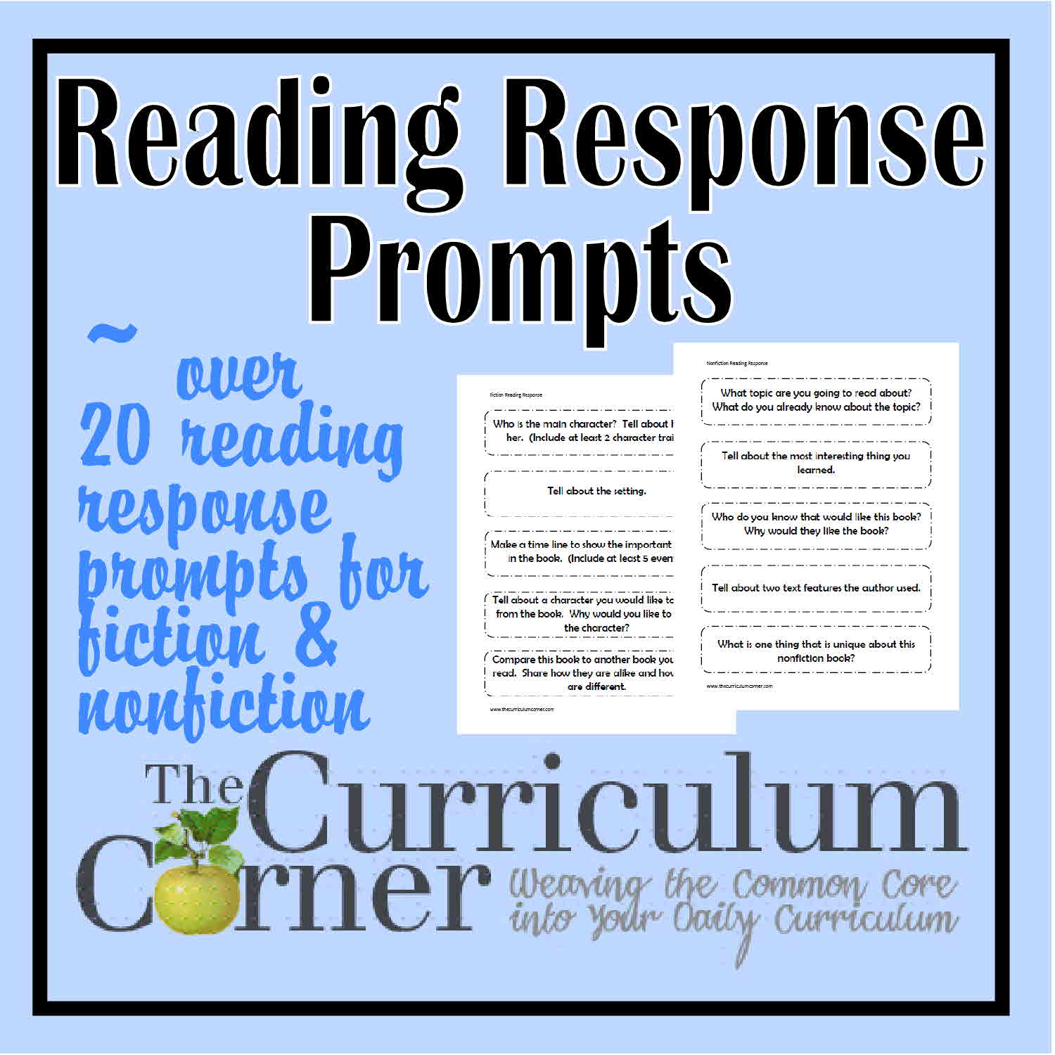 reader response essay prompt Reading response prompts: 1 sends readers a message about that character without saying things too explicitly b pretend you are chaucer but without his style.
