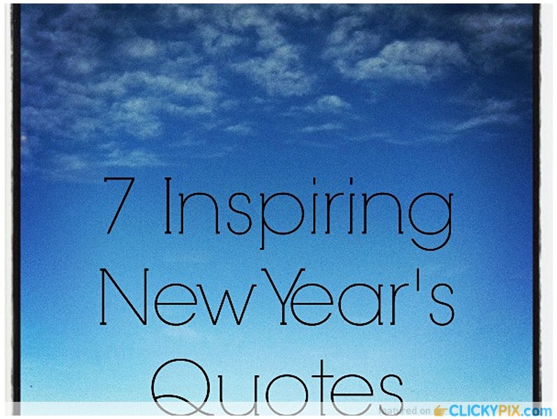 quotes about new year s resolution quotes