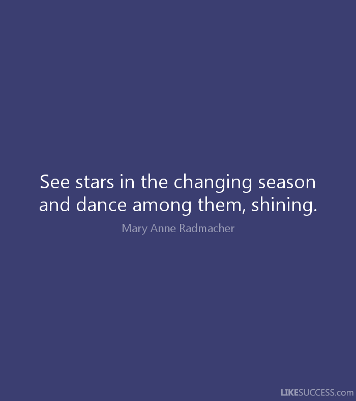 Seasons Change Quotes Custom Quotes About Season Change 48 Quotes
