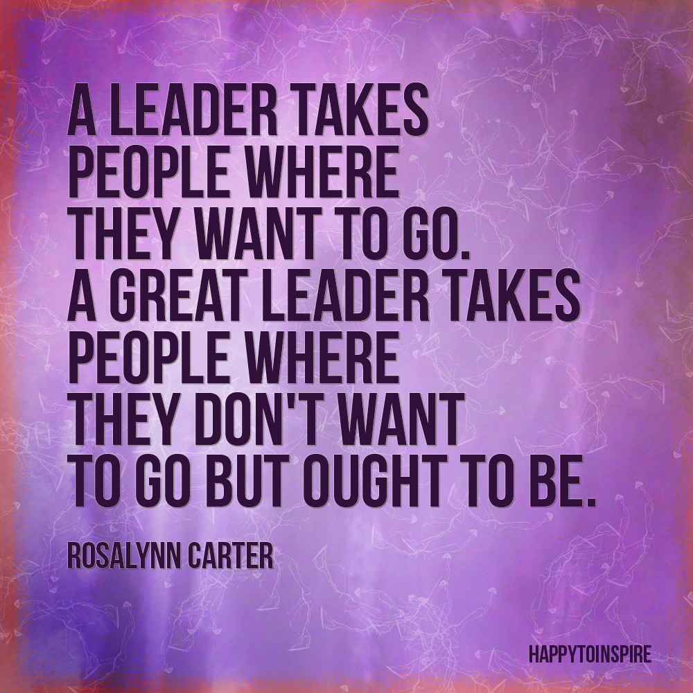 an ideal leader