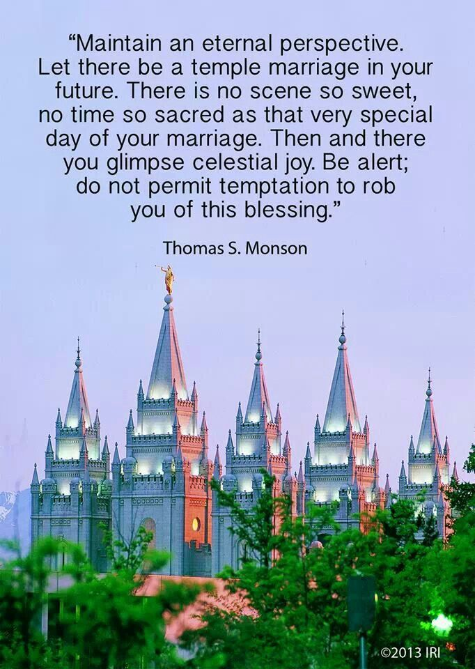 Quotes about Temple Marriage (34 quotes)
