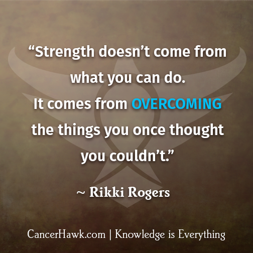 Quotes about Cancer inspirational (27 quotes)