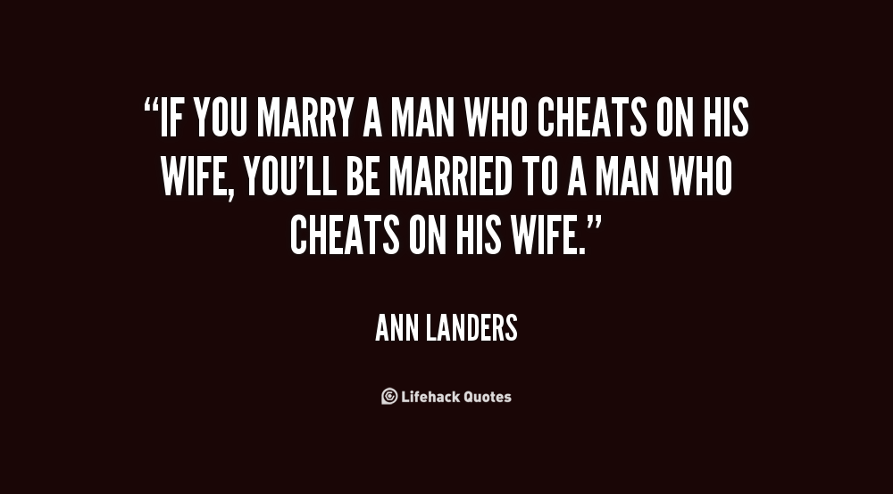 Quotes On Cheating In Marriage