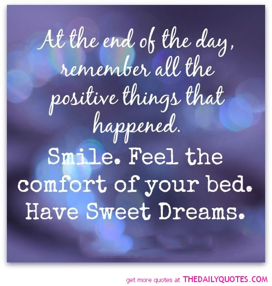 Short Sweet I Love You Quotes: Quotes About Positive Dreams (31 Quotes