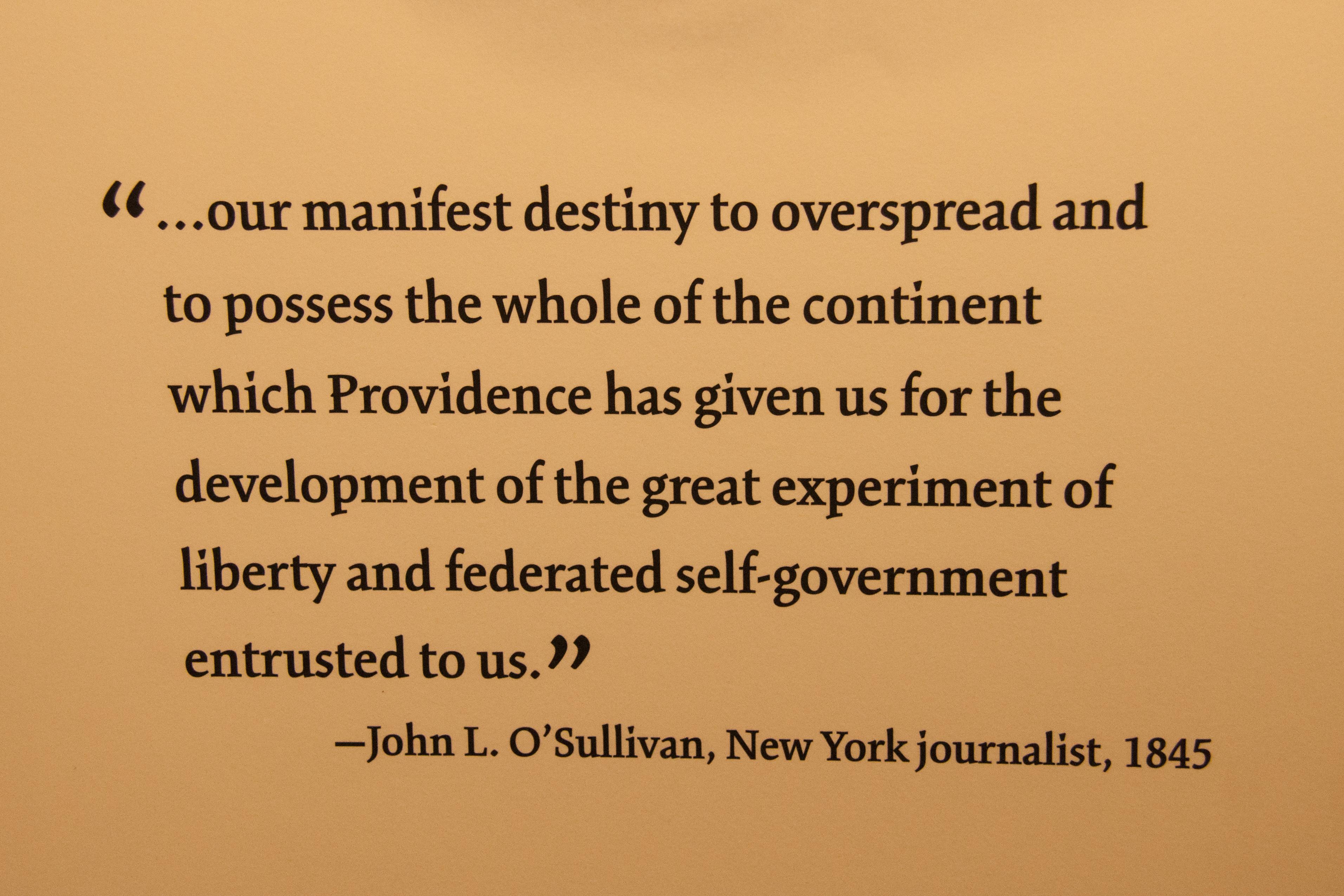 Quotes About Manifest Destiny 31