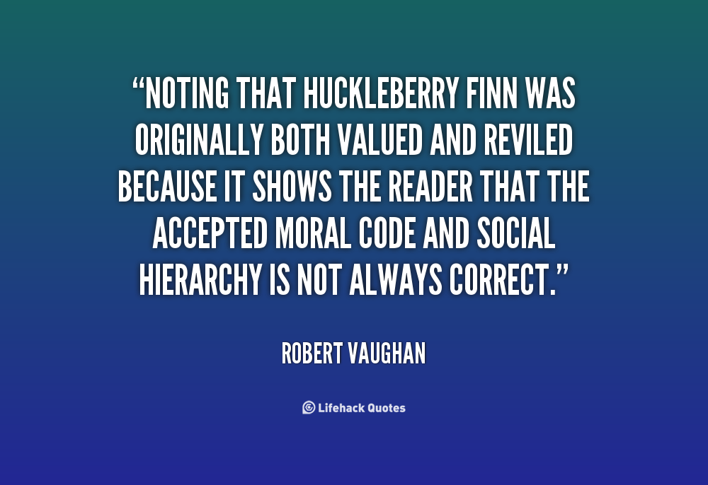 huckleberry finn on racism A teacher in iowa has reportedly been fired for telling students that mark twain's classic american novel the adventures of huckleberry finn was racist naiya galloway, a 31-year-old teaching.