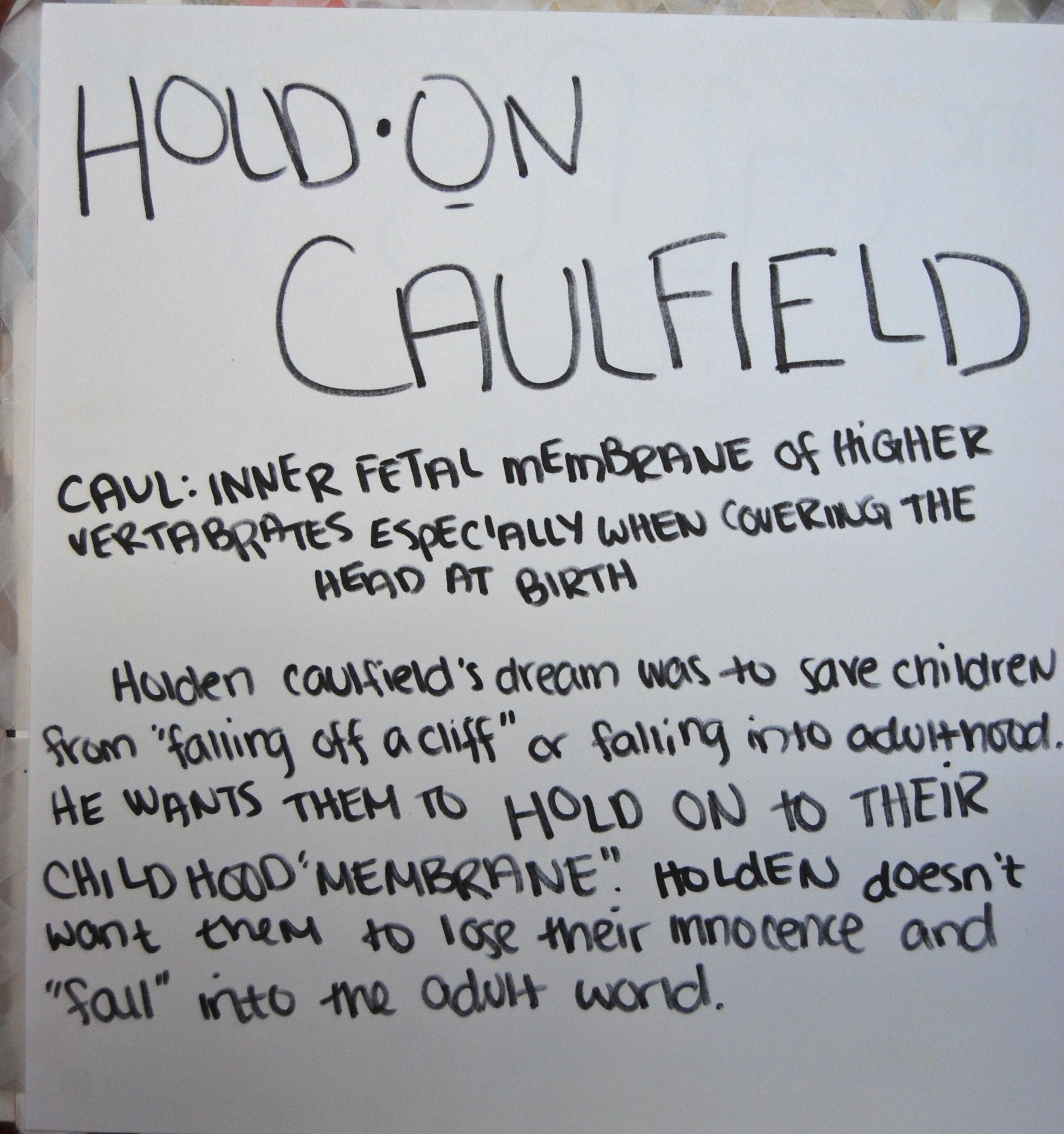 holden caulfield discontent teen essay