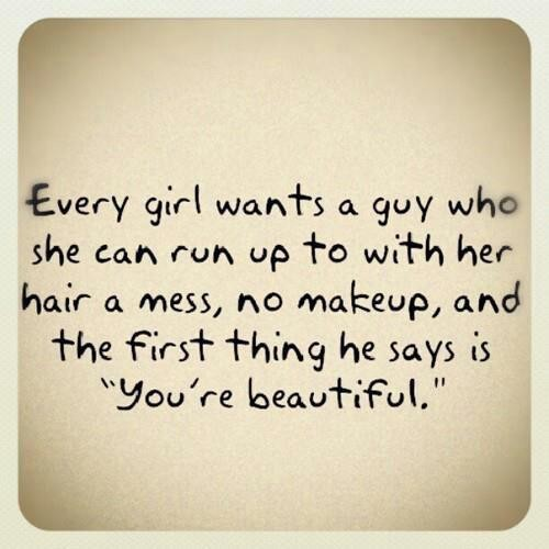 Quotes about Girl with no makeup (15 quotes)