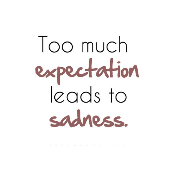 Quotes about Too much expectations (21 quotes)