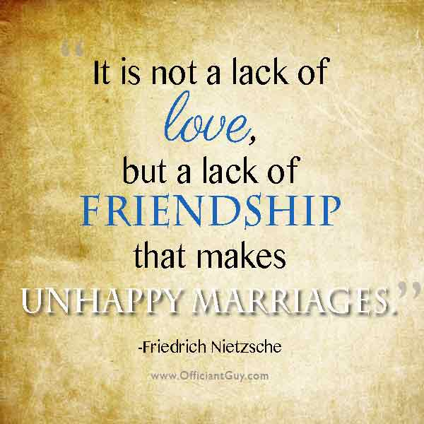 quotes about marriage and friendship quotes
