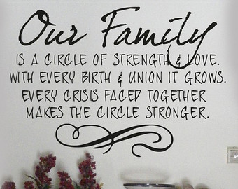 quotes about strength of family quotes